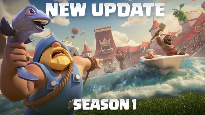 Clash Royale July Update Patch Notes!