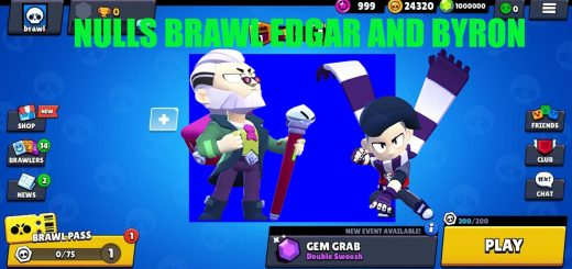 DOWNLOAD NULLS BRAWL BRAWL STARS WITH BRAWLERS EDGAR AND BYRON