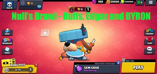 To unlock all the brawlers, go to the SHOP and press UNLOCK ALL BRAWLERS