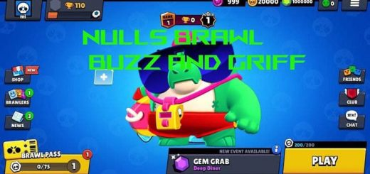 Download NULLS BRAWL with New Brawlers – Buzz and Griff